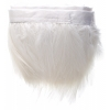 Coque Hackle 4-6in Value Strung 1Yd White Bleach